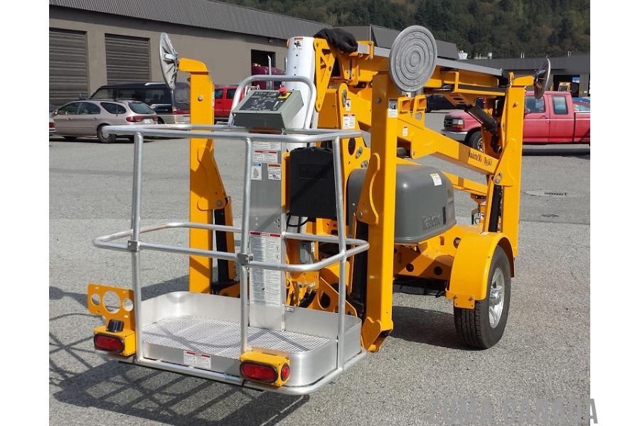 Bil Jax Scaffolding Parts : New biljax a towable boom lift