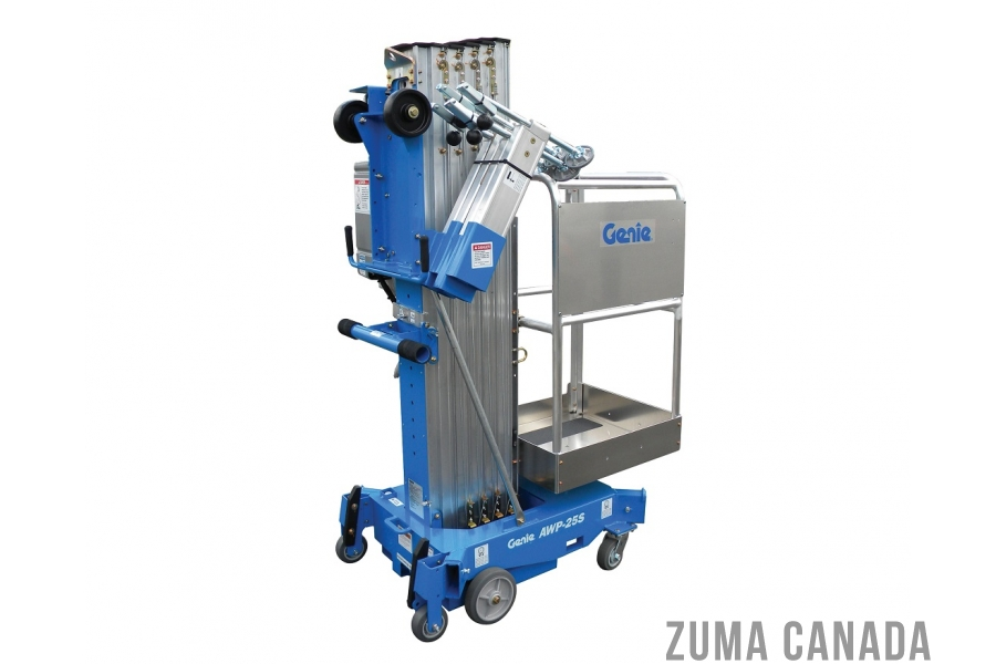 New Genie Awp 25s Single Man Lift