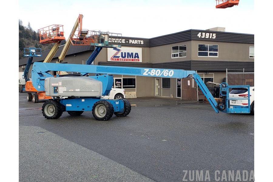 2010 Genie Z80/60 Articulating Boom Lift