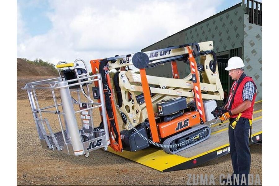 NEW JLG X500AJ Articulating Crawler Boom Lift