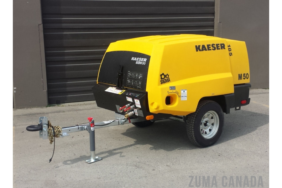New Kaeser M50 185 Cfm Air Compressor For Sale