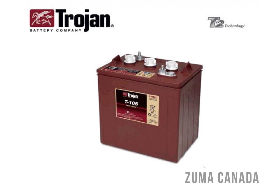 Trojan T 105 6 Volt Deep Cycle Battery Canada